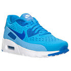 Nike 725222-404: Air Max 90 Ultra BR Breathe BLUE/White Running Sneaker MEN $130