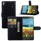 4Colors Leather Folio Wallet Flip Stand Case Pouch For Lenovo K50 #i
