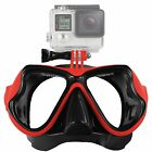 Camera Mount Diving Mask Scuba Snorkel Glasses Goggles For GoPro HD Hero 2 3 4