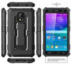 Samsung Galaxy Note 4 Case Cover Built-in Screen Protector Hybrid Armor Defender
