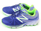 New Balance W3190BL2 D Blue Violet & Green & White Lightweight Running Shoes NB