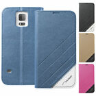 Ultra Slim Magnetic Flip Luxury Case Cover with Fold Stand for Samsung Apple
