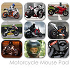 MOTORCYCLE CUSTOM MOUSE PAD SPORT BIKE FRIENDS PERSONALIZED MOUSEPAD  (MM-02)