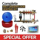 Water Underfloor Heating -Single Room Kit covers 10m2 with PE-X Pipe High Output