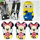 Minnie Dog Zebra Cellphone silicone case cover for HuaWei Ascend P7 G6