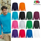 Fruit of the Loom FOTL - Men's Lightweight Raglan Sweatshirt Casual Jumper