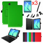 For Samsung Galaxy Tab A 8.0 Tablet Leather Case Cover Bluetooth Keyboard Bundle