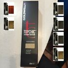 GOLDWELL TOPCHIC PROFESSIONAL HAIR COLOR 2.1 OZ. TUBE ALL COLOURS AVAILABLE