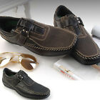 New Top Band Black Brown Casual Dress Loafers Mens Shoes Nova
