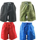Men's Swimming Board Shorts Swim Shorts Trunks Swimwear Beach Summer Boys Plain