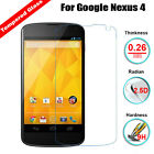 For LG Google Nexus 4 E960 Premium Real Tempered Glass Film Screen Protector