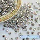 4.5mm Clear Silver Acrylic Diamond Confetti Wedding Party Table Scatters