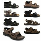 MENS BOYS VELCRO WALKING SPORTS HIKING SUMMER BEACH MULES SANDALS SHOES SIZE