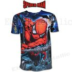 NEW Super Hero Spider-Man Spiderman Cartoon Round Neck ShortSleeve T-Shirt Cloth