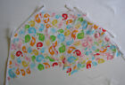 Hand Made 10ft 10 flag kids childs childrens fabric bunting birds baby boy girl