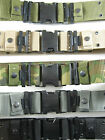 Utility Pistol Belt GI Style Military Web Adjustable Canteen Belt Quick Release
