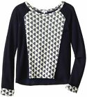 SPLENDID Long Sleeve Waffle Knit Textured Pullover Sweater GIRL SIZE 14 NWT