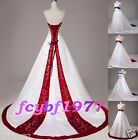 stock New Wedding Dress Bridal Gown Stock Size:6-8-10-12-14-16-18