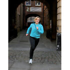 Precision Training Ladies Running Rain Jacket Sun Turquoise/Black