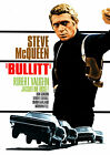Bullitt Vintage Movie Steve McQueen Giant Poster - A1, A2, A3, A4 sizes
