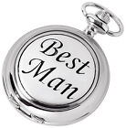 Wedding Best Man Mechanical Hunter Pocket Watch, Woodford,,Men's Gift Boxed New