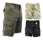 Mens Cargo Shorts Military Army Combat Overall Sport Pants Trousers Hiking Golf