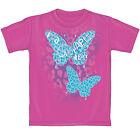 Butterfly Peace/Love Pink T-shirt - 100% Cotton BRAND NEW