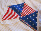 USA American Bunting 4th July Decor 12FT (over 3.5 M) Stars & Stripes - FREEPOST