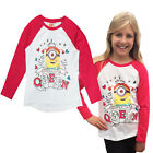 Girls Official Minions Top Despicable Me Childrens Prom Queen 4-5 Years T Shirt