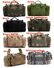 Men Tactical Waist Pack Shoulder Bag Handbag Multi-purpose Bag for Outdoor Sport