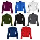 Womens Sonar Sportive Look Soft Jackie Tone-On-Tone Track Top Jacket Size 10-16