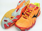 Mizuno Japan Men's WAVE TORNADE LO Volleyball Shoes Hinotori Orange V1GA1410