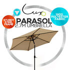 New Parasol Cantilever Outdoor Sunshade Garden Market Shade Patio Umbrella