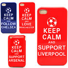 Keep Calm & Arsenal Liverpool Manchester Case For Apple Iphone Various Phones