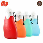 Sili Squeeze with Eeeze 120ml offene Tülle Kinderflasche Silikon Smoothies 2+