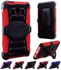 For Alcatel OneTouch Conquest New Premium Rugged Side Stand Holster Cover Case