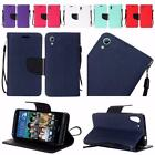 For HTC Desire 626 626s Premium Leather Flip Wallet Cover Case