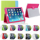 For Apple iPad 2/3/4 Air/Air2 PU Folio Stand Smart Magnetic Leather Case Cover