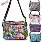 Women's cartoon shoulder messenger crossbody hobo Satchel bag cute waterproof