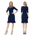 Ever Pretty Women Half Sleeve Short Prom Party Cocktail Dress 03900