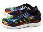Adidas Originals ZX Flux Rainbow Splash Multi Color Retro Classic Running AF6323