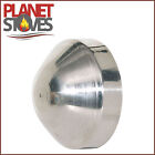 Galvanised Nose Cone For Use With Multifuel/Wood Burning Stove Installation