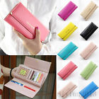 Korean Fashion Women Lady Purse Long Wallet Clutch Bags Card Holder Candy Colors