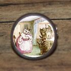 Art Beatrix Potter TOM KITTEN Cuff Link or Tie Tack or Ring or Pendant or Pin