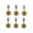Boston Bruins NHL Hockey European Rhinestone Gem Charm for Bracelet Dangle Bead $12.99 USD on eBay