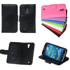 New 7 Color PU Leather Wallet Flip Case With Card slots For Samsung Galaxy S4