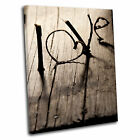 Love Vintage Canvas Wall Art Print Framed Picture 12 PREMIUM QUALITY
