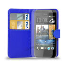 HTC Desire 310 - Leather Wallet Case Cover & Free Screen Protector