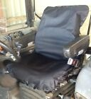 Heavy Duty Black Tractor/JCB Seat Cover Waterproof - Other colours available
