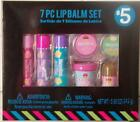 Expressions 7 piece Lip Balm Gift Set New!